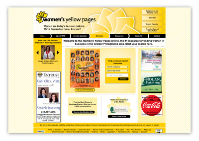 Women's Yellow Pages